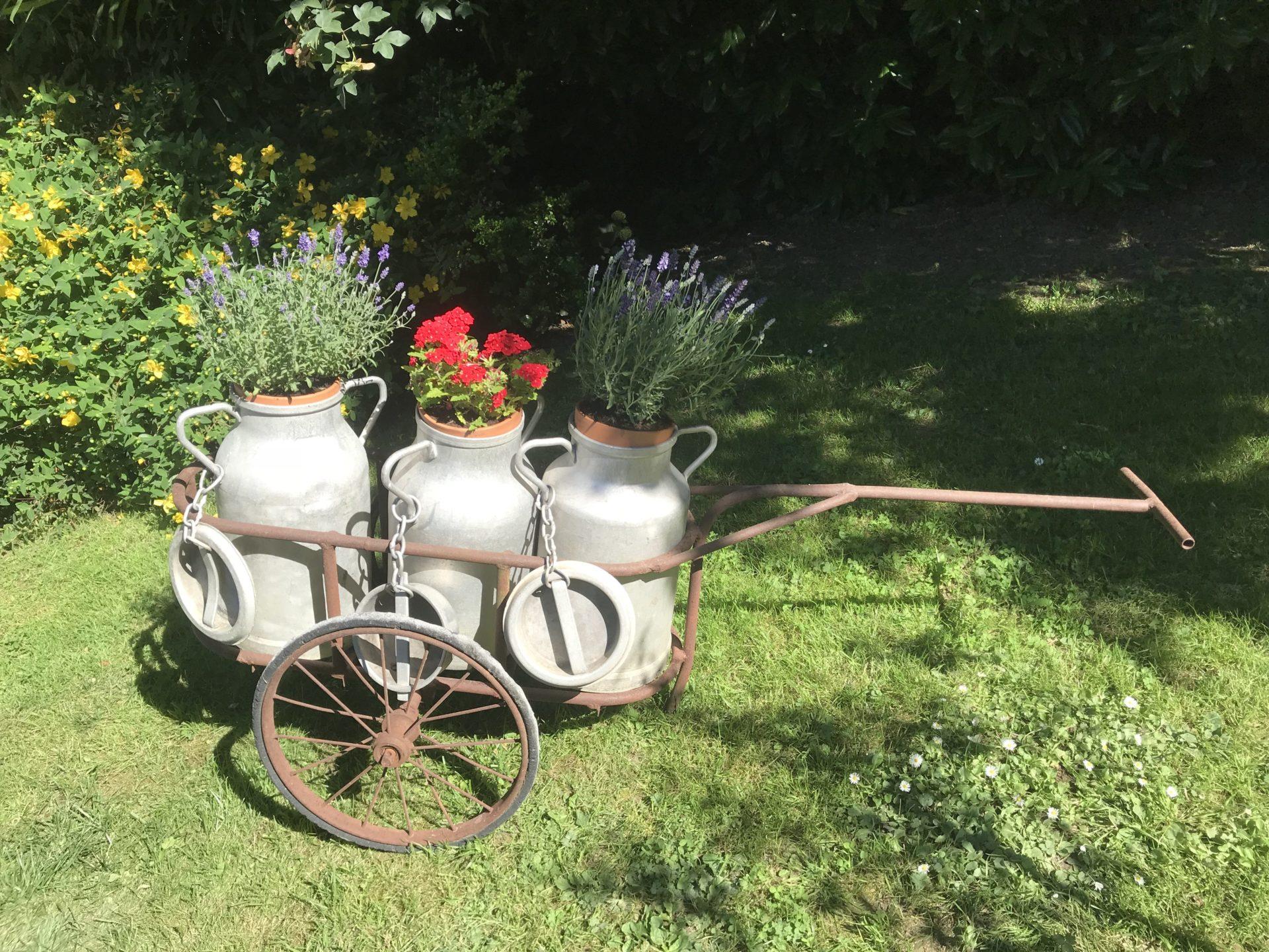 Jardin gîte saint riquier