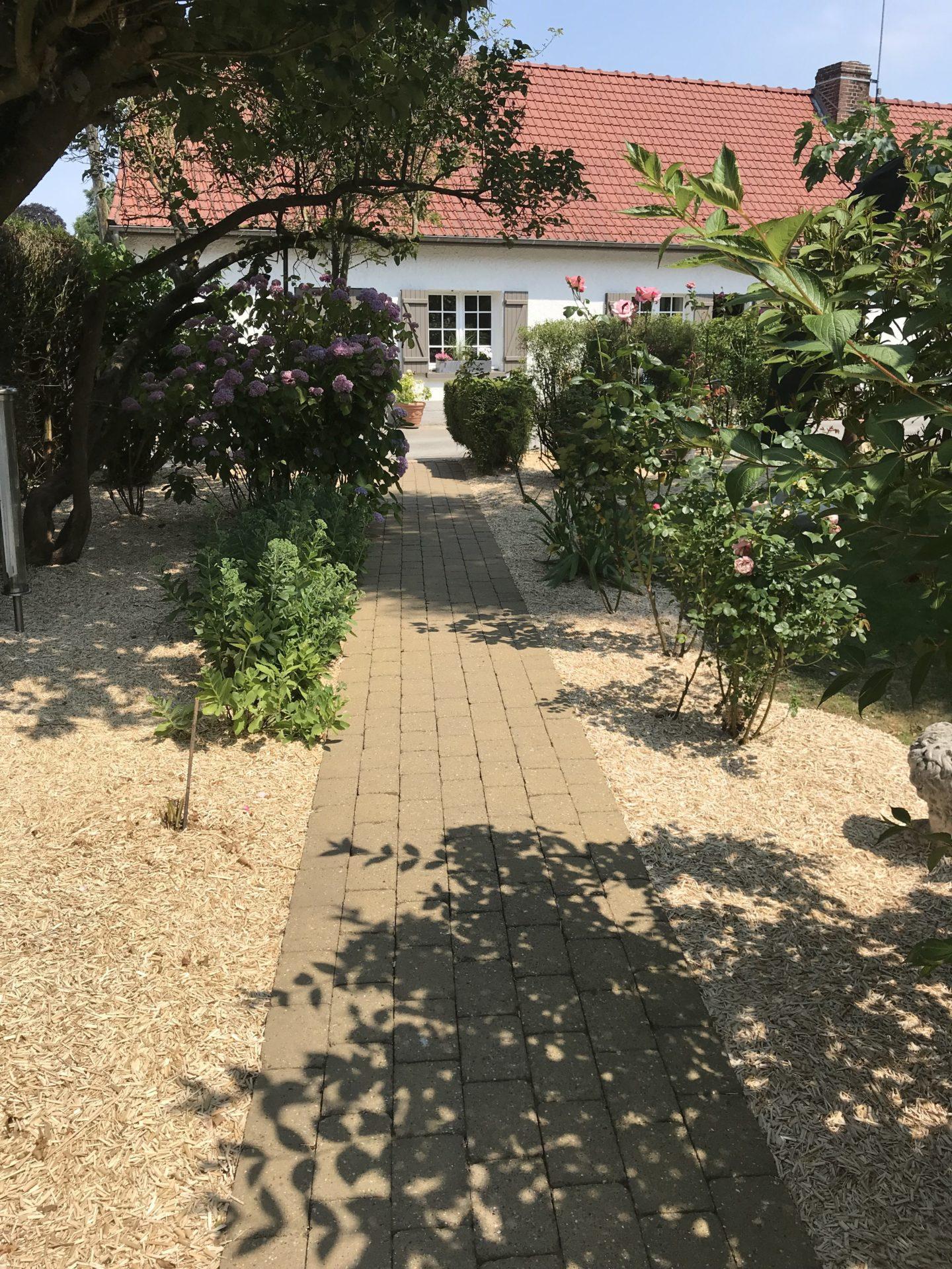 Jardin chambre d'hôte saint riquier